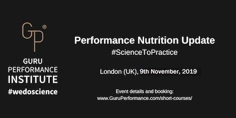 Performance Nutrition Update (November, 2019) tickets