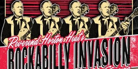 Reverend Horton Heats Rockabilly Invasion tickets