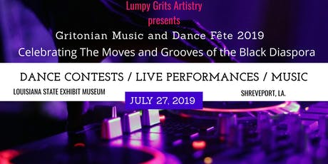 Lumpy Grits Artistry presents Gritonian Music and Dance Fête 2019 tickets