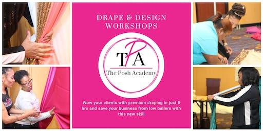 The Posh Academy's Drape & Design Virtual Workshop