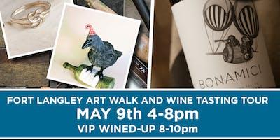 Art Walk & Wine Tasting - Art Fort Langley