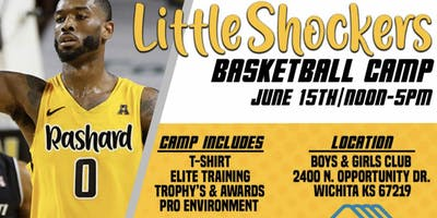 Rashard Kelly Little Shockers Youth Camp