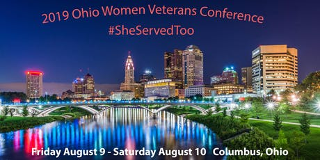 2019 Ohio Women Veterans Conference tickets