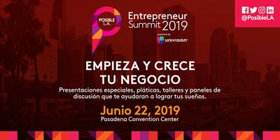 Posible L.A Entrepreneur Summit 2019