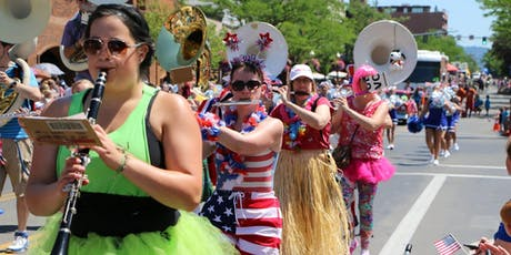 2019 Coeur d' Alene 4th of July Parade Entry Registration tickets