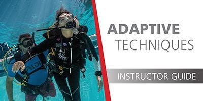 PADI Adaptive Techniques Specialty Instructor Course in Estarit, Spain