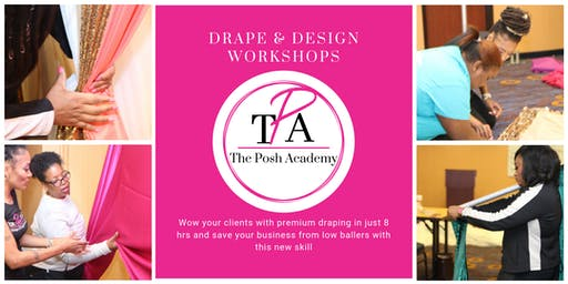 The Posh Academy's Drape & Design Hands-On Workshop