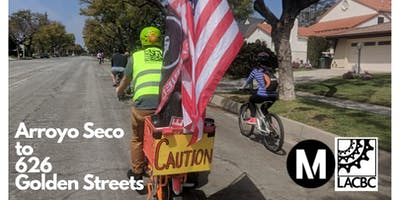 BIKE MONTH: Arroyo Seco to 626 Golden Streets