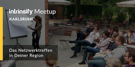 intrinsify.meetup Karlsruhe Tickets