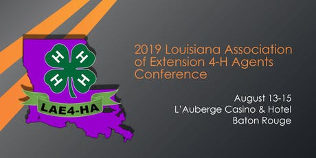 """2019 LAE4-HA Conference """"From Roadmap to Reality"""" - Trade Show tickets"""
