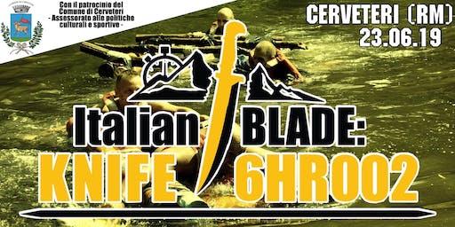 Italian BLADE: KNIFE 6HR 002