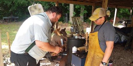 Teen Blacksmithing Camp tickets