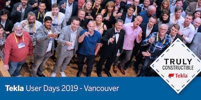 Tekla User Days 2019 - Vancouver