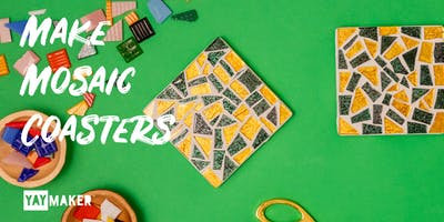 Mosaic Coaster Making and Sip party