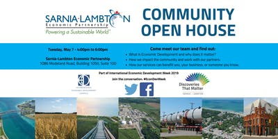 Sarnia-Lambton Economic Partnership Community Open House
