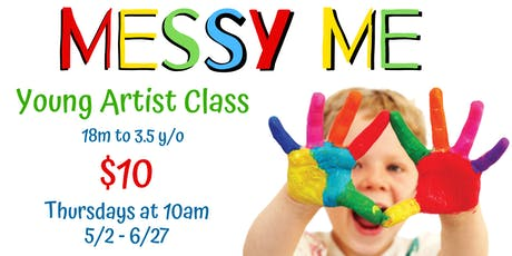 Messy Me - Young Artist Class  tickets