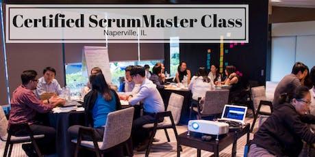Certified ScrumMaster (CSM) Training Class - in Naperville, IL tickets