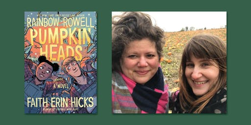 Meet Rainbow Rowell & Faith Erin Hicks at Barnes & Noble Union Square