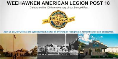Weehawken American Legion Post 100th Anniversary Dinner