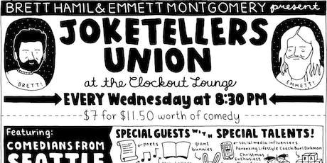Joketellers Union tickets