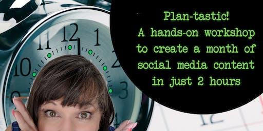 Plan-tastic! Facebook Content Calendar Workshop for Businesses