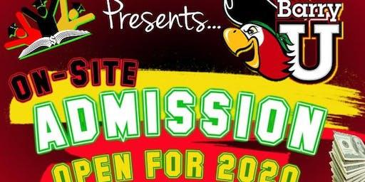 WMIE 2020 Barry University On-Site/ College Fair