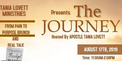 The Journey From Pain to Purpose Brunch and Round Table Talk