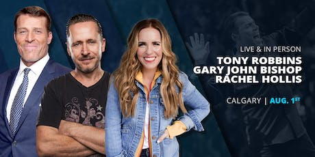 Power of Success with Tony Robbins and Friends Calgary 2019 tickets