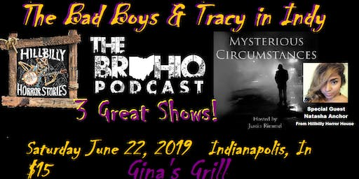 The Bad Boys and Tracy in Indy