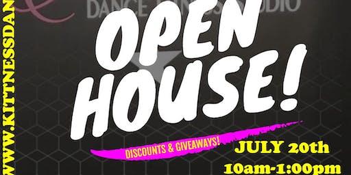 OPEN HOUSE (FREE CLASS DEMOS)