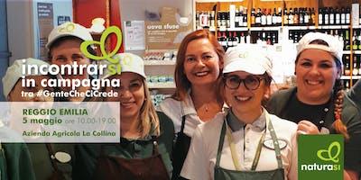 Incontrarsi in campagna tra #gentechecicrede a Reggio Emilia