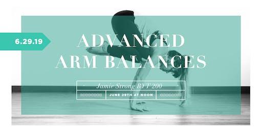 Advanced Arm Balances
