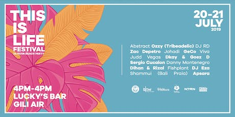 This is Life Festival - Gili Air, Indonesia tickets