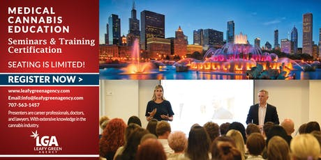 Medical Marjiuana Budtender and Brand Ambassador Advanced Sales Training - Chicago, IL tickets