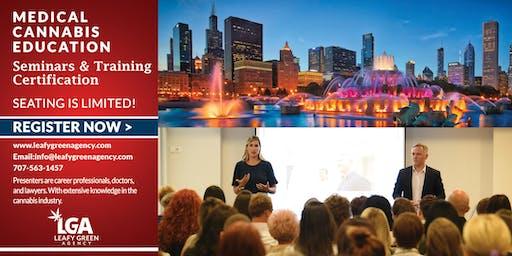 Medical Marjiuana Budtender and Brand Ambassador Advanced Sales Training - Chicago, IL