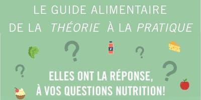 Le guide alimentaire de la théorie à la pratique
