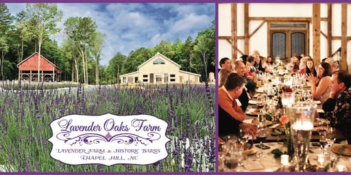 "Lavender Oaks Farm, ""Bloom & Bouquet"" Lavender & Wine Dinner"