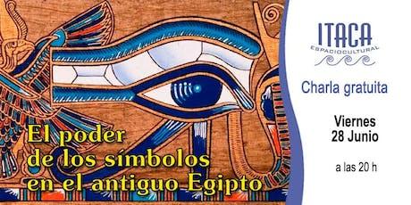 Charla gratuita: el poder de los símbolos en el antiguo Egipto entradas