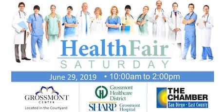 Health Fair Saturday tickets