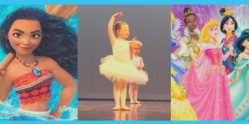 Disney Princess Ballet Camp