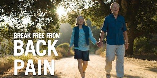 Break Free from Back Pain