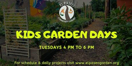 Kids Garden Days tickets