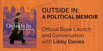 "Book Launch: Libby Davies'  ""Outside In: A Political Memoir"""