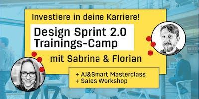 Design Sprint 2.0 Trainingscamp mit Sabrina und Florian