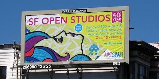 ArtSpan's SF Open Studios Mentor Mixer at Arc Studios & Gallery