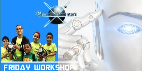 Friday Workshop STEM, Robótica y Vídeo Juegos (Edades 4 a 25) San Juan tickets