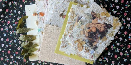 Papermaking with Wayne Fuerst: Friday, October 25th 6pm-8:30pm tickets