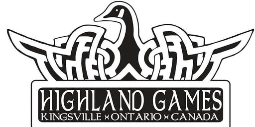 Kingsville Highland Games General  Admission