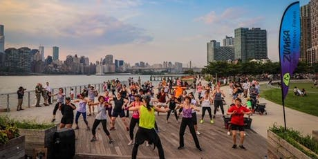 FREE ZUMBA at Hunter's Point Parks Conservancy tickets
