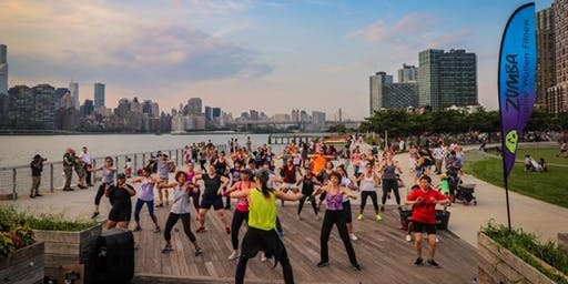 FREE ZUMBA at Hunter's Point Parks Conservancy